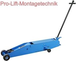Pro-Lift-Montagetechnik 10t Rangierwagenheber, Stahl, 165mm-570mm, 100001T, 01422 - 1
