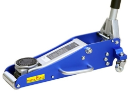 Pro-Lift-Montagetechnik 1,5t Rangierwagenheber Alu/Stahl Mix, silber/blau, FJ15ASJ, 02169 - 1