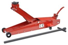 Pro-Lift-Montagetechnik 3t Rangierwagenheber, lange Ausführung, Hub 670mm, 00031 - 1