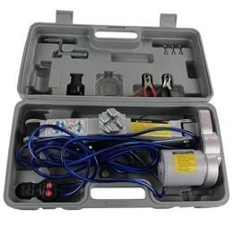 Qualtex 2 Ton 12 V Elektrische Auto Schere Wagenheber 2 Tonnen 4000LB Kapazität - 1