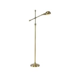 CLOTHES UK- Moderne Antique Brass Einstellbare Eisen Lesen Craft Stehleuchte Interiors Zeitgenössische Metall Lampe, Antik Messing Stehlampe - 1