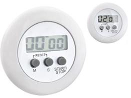 Kurzzeitmesser Eieruhr Küchenuhr Küchentimer LCD Digital Timer +Clip Rund Alarm 99 Min #1692 - 1