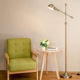Stehlampe Vertikal Wohnzimmer Schlafzimmer Den kreativen antiken Messing-Stehleuchte Wohnzimmer - 1