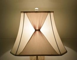 Yool Fabric Shades, Cremig-Weiß Dekorative Kunst Spinning Tuch Mischfarben Stoff Shade Lampe Wand Lampenschirm Home Decoration Shade - 1